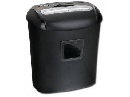 Skartovač Peach PS500-40 10 listů, 21 l, křížový řez (PS500-40) / černá / POŠKOZENÝ OBAL
