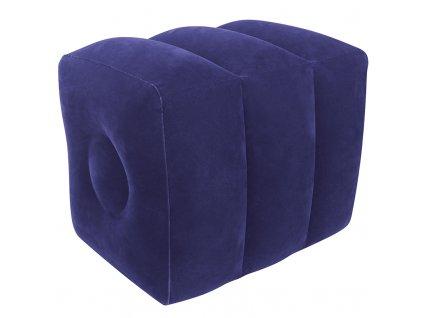 39797 nafukovaci polstar pod nohy relaxacni podlozka vitalmaxx modra