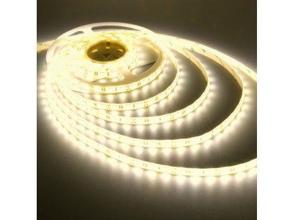 27365 led pasek tepla bila 3528 60 led m 5 m ip 20