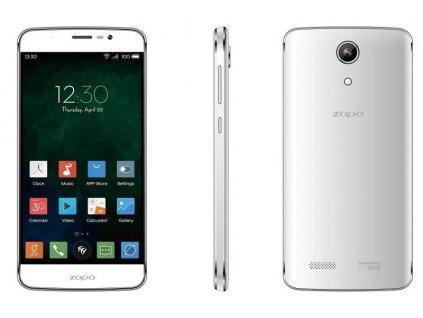 46697 2 smartphone zopo speed 7 plus 16 gb 3 gb ram 5 5 bily zanovni