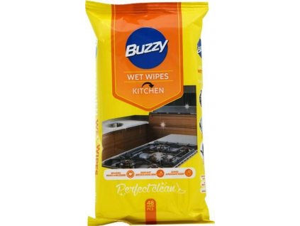 Buzzy vlhčené ubrousky Kitchen 48ks - Kuchyň (Karton 20ks)