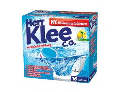 561 klee wc reinigungstabletten cistici tablety toalet s vuni citronu 16 ks