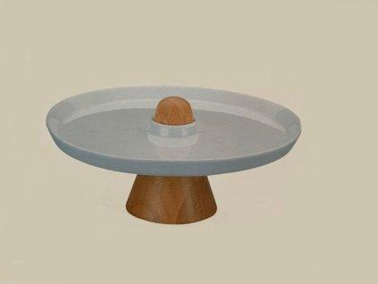 12764 la porcellana bianca porcelanovy stojan na ovoce