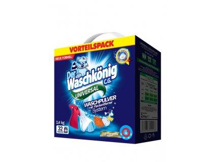 WaschKönig prací prášek 2,4 kg Universal 32WL 4260353550188