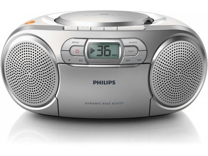 20702 cd prehravac philips az127 s radiomagnetofonem cd cd rw fm