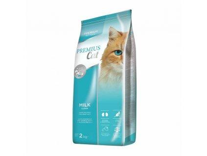 Krmivo pro kočky Dibaq Premius Cat Milk 2 kg / POŠKOZENÝ OBAL