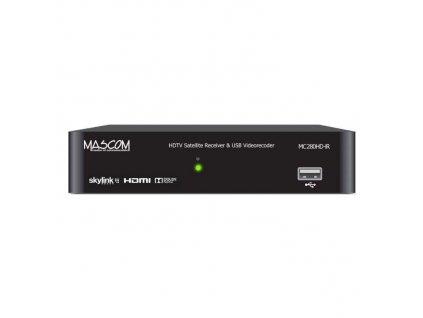 Satelitní přijímač Mascom MC280HD-IR v HD / černá / ROZBALENO