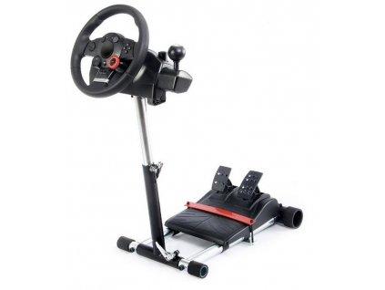 Wheel Stand Pro Driving Force GT/PRO/EX/FX Deluxe V2 držák na volant / černá / ROZBALENO
