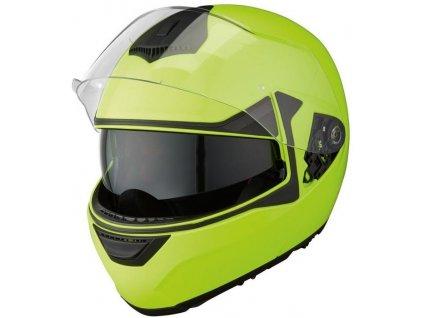 Výklopná přilba High Visibility M / zelená