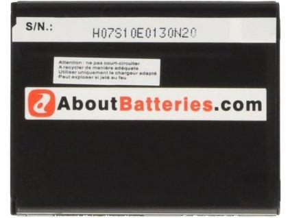 AboutBatteries baterie typu Samsung GB / T18287-2000 / 3,7 V / 1400 mAh / Li-Ion / POŠKOZENÝ OBAL