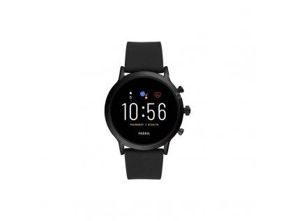 Chytré hodinky Fossil FTW4025 HR - Black silicone / ROZBALENO