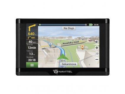 Navigační systém GPS Navitel E500 TMC Magnetic / černá / ROZBALENO