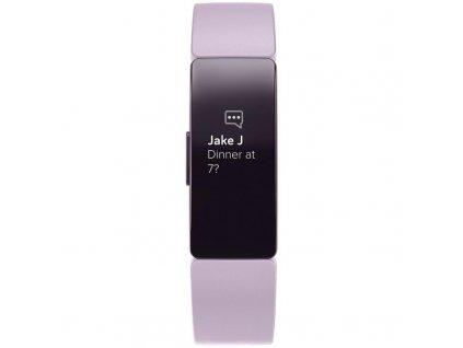 Fitness náramek Fitbit Inspire HR / šeřík / ROZBALENO