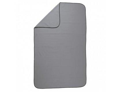 VITALmaxx - Sportovní ručník Deluxe 80x130cm šedá
