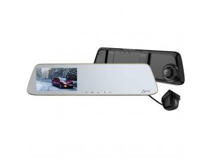 Autokamera CEL-TEC M6s Dual Touch / černá / stříbrná / ROZBALENO