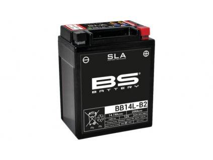 Továrně aktivovaná motocyklová baterie BS-BATTERY BB14L-B2 / ZÁNOVNÍ
