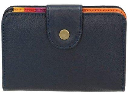Kožená peněženka pro dívky GATARIC / tmavě modrá