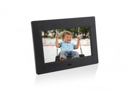 Elektronický fotorámeček Hyundai LF 1030 MULTI / černá / ROZBALENO