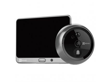 Dveřní videotelefon EZVIZ DP1 Smart Door Viewer 720p (CS-DP1-A0-4A1WPFBSR) / ROZBALENO
