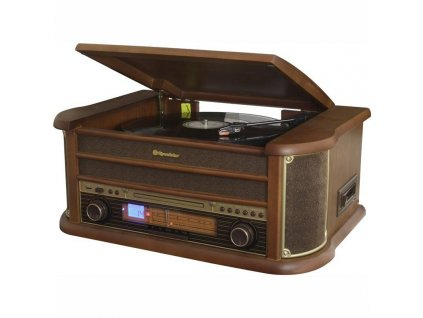 Gramofon Roadstar HIF-1993 BT dřevo / ROZBALENO