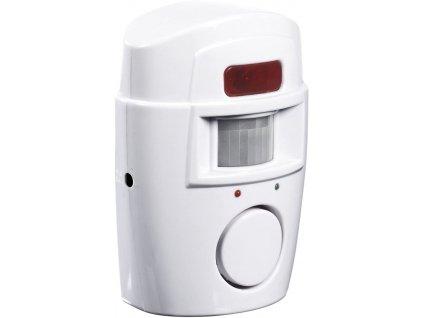 Easymaxx - Bezpečnostní alarm pohybu 6 V / BÍLÁ / ROZBALENO