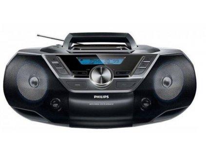 Radiopřijímač s CD Philips AZ780 / černá / ROZBALENO
