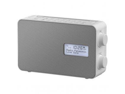 Radiopřijímač s DAB+ Panasonic RF-D30BTEG-W / bílá