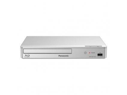 3D Blu-Ray přehrávač Panasonic DMP-BDT168EG / stříbrný / POŠKOZENÝ OBAL
