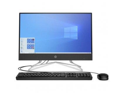 Počítač All In One HP 200 G4 / černá / ROZBALENO
