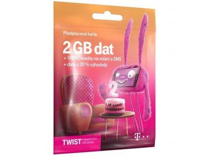SIM karta T-Mobile Twist s Námi 2 GB (700 617) / ROZBALENO