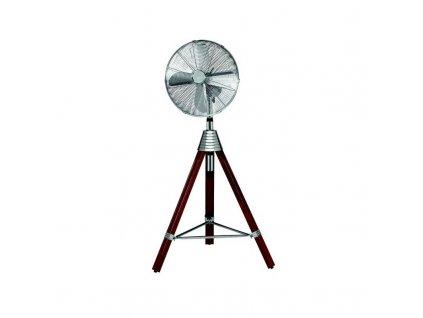 Ventilátor stojanový AEG VL 5688 / nerez / dřevo / ROZBALENO