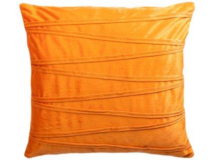 Povlak na polštář Ella / 45 x 45 cm / oranžová