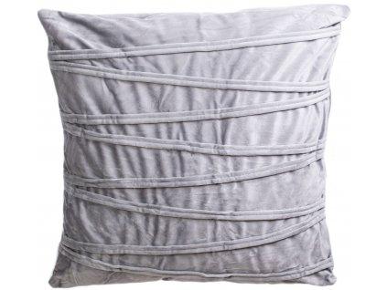 Povlak na polštář Ella / 45 x 45 cm / šedá