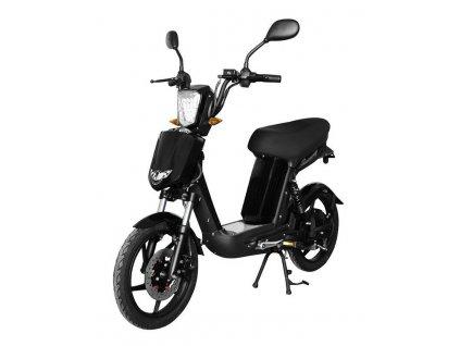 Elektrická motorka RACCEWAY E-BABETA / černá / ROZBALENO