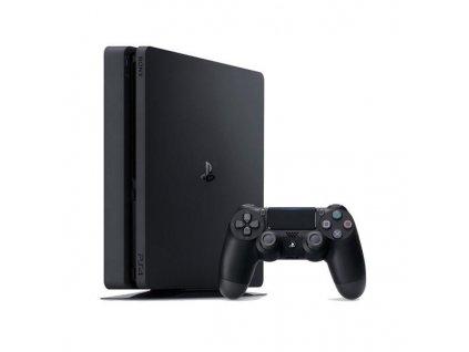 Herní konzole Sony PlayStation 4 500GB / černá / ROZBALENO