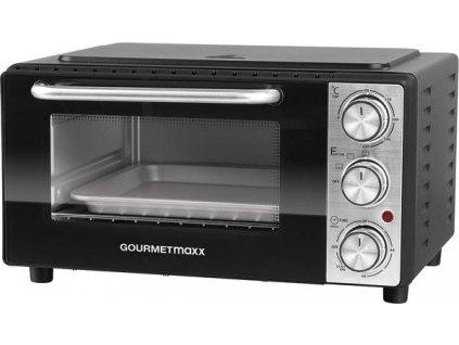 Infračervená trouba Gourmetmaxx / 13 l / 1000 W / černá / POŠKOZENÝ OBAL