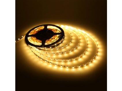 LED pásek žlutý 3528 - 60 LED/m / 5 m / IP 20