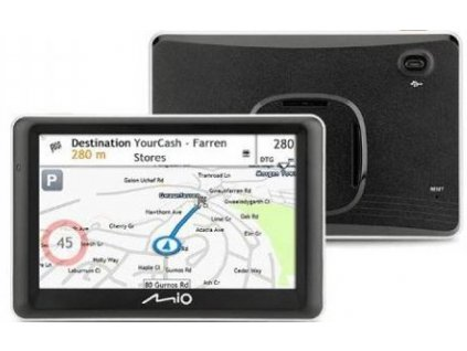 Navigační systém GPS Mio Spirit 7800 Full Europe Lifetime (442N60200006) černá / ROZBALENO