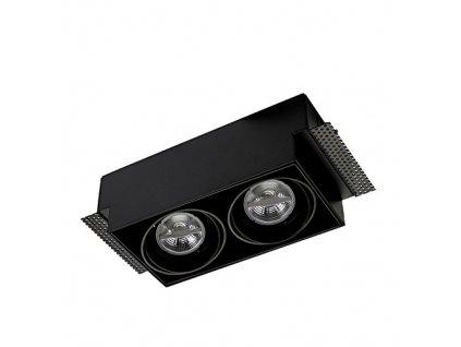 Dvojité bezrámové zápustné svítidlo Leds-C4 DM-0094-60-00 - 2x max. 50W