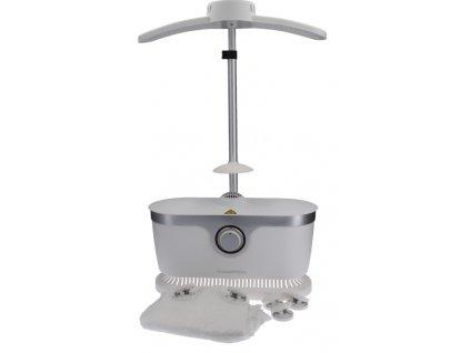 Napařovač košil a halenek CLEANmaxx / bílá / stříbrná / 1800 wattů / ZÁNOVNÍ