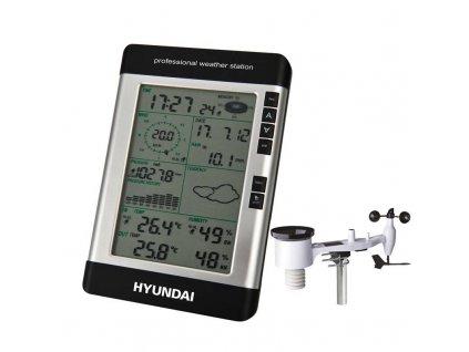 Meteorologická stanice Hyundai WSP 3080 R WIND / černá / ROZBALENO