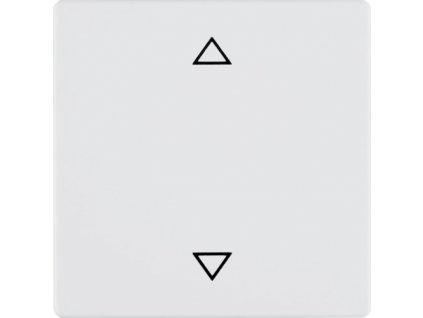 Ovladač žaluzií Berker 85241129 Q1/Q3 - bílý