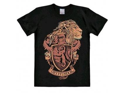 Tričko Harry Potter - Nebelvírský erb Logoshirt