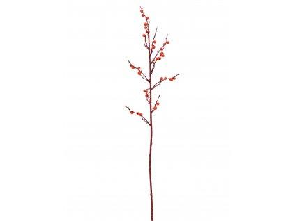Dekorační větvička s korálky