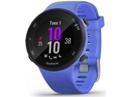 GPS hodinky Garmin Forerunner 45S Optic / fialová / ROZBALENO