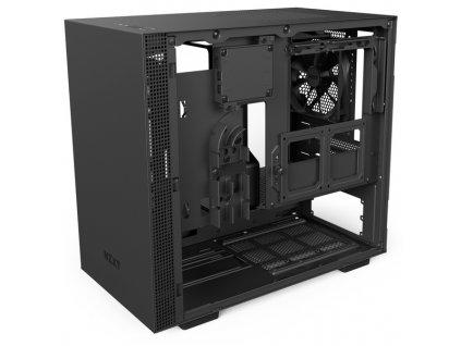 PC skříň NZXT H200i SMART / matná černá