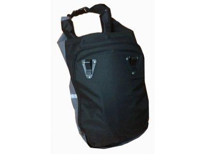 Cyklistický batoh 2v1 - černý