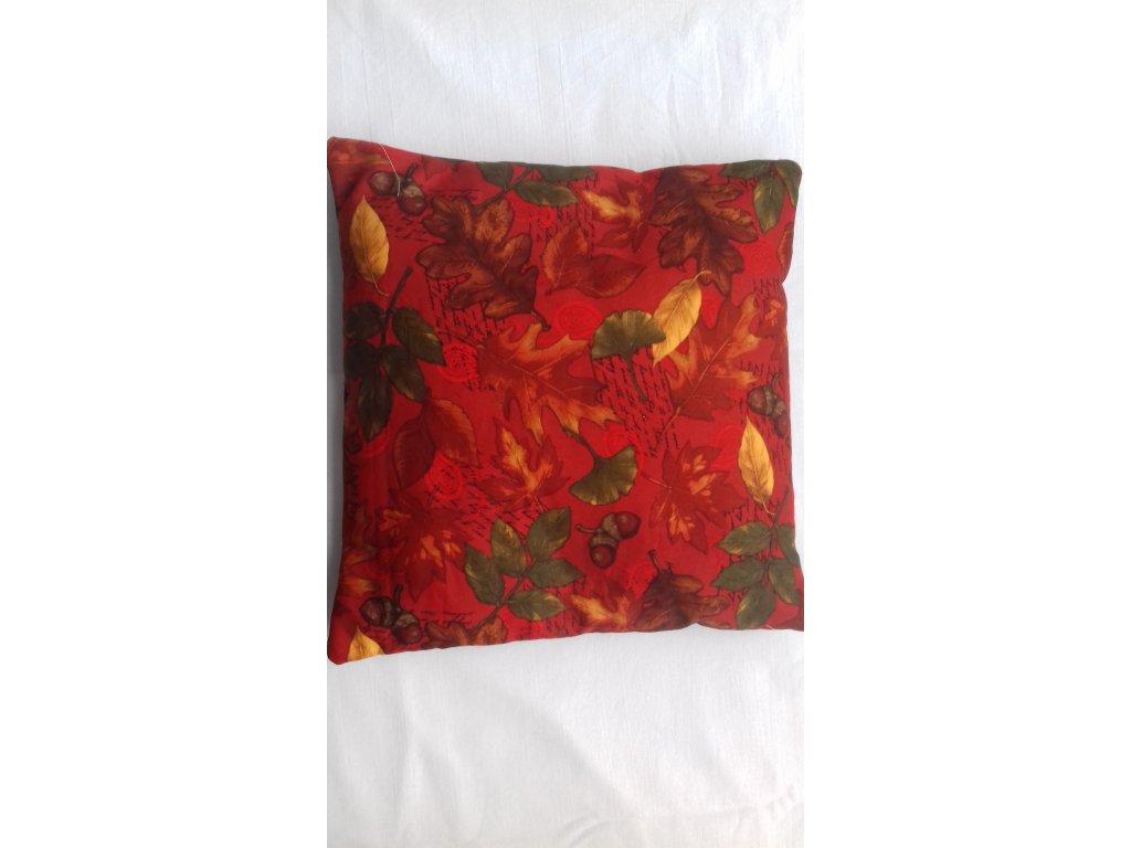 polštář pohankový 30 x 30 cm