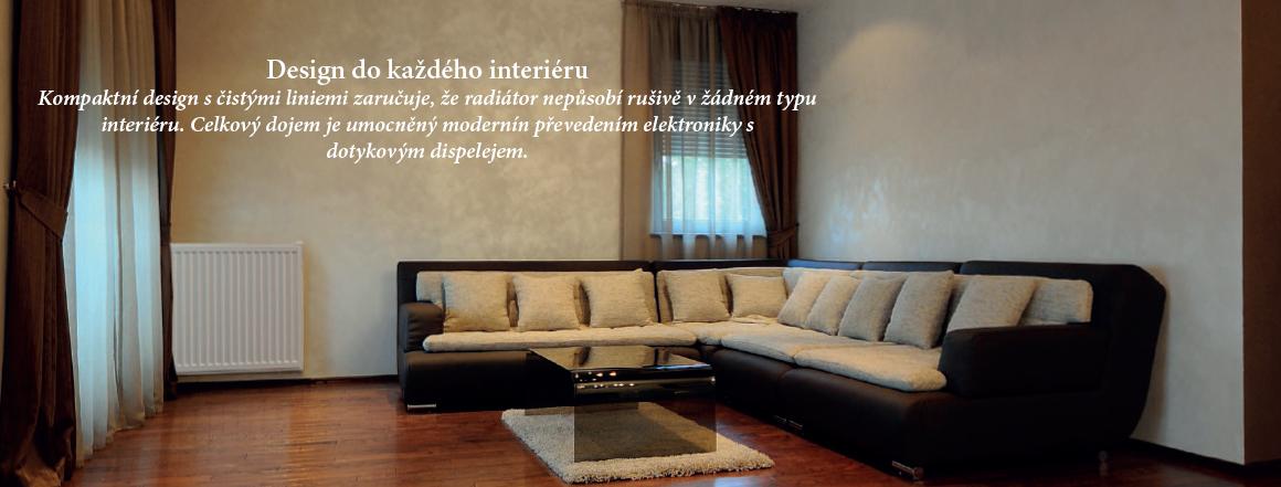 IQ Line deskový olejový radiátor - design do každého interiéru