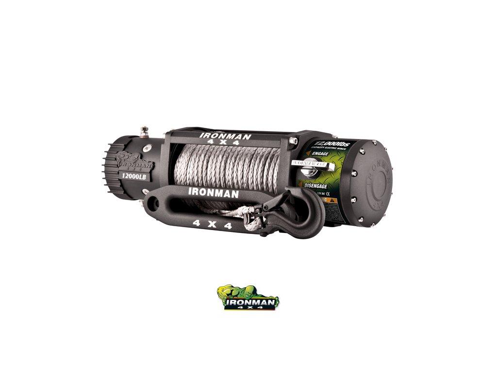 Monster winch WWW12000LB - syntetické lano, (12V)